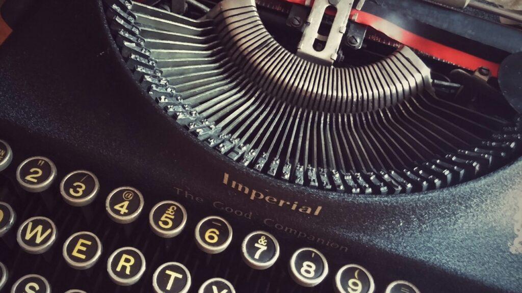 type, typewriter, font